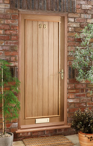 Picture of External Wooden Door
