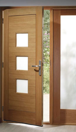 Picture of External Timber Door